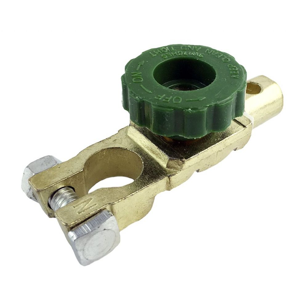 12V Green Knob Quick release Battery Clamp